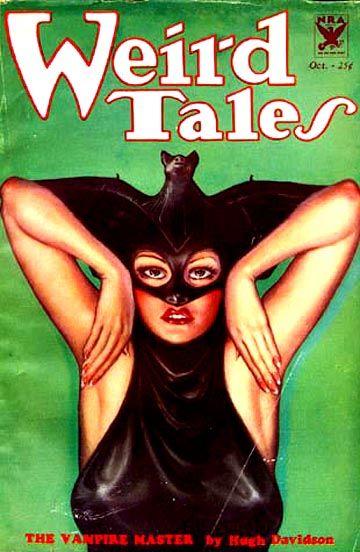 Weird Tales Margaret Brundage cover art