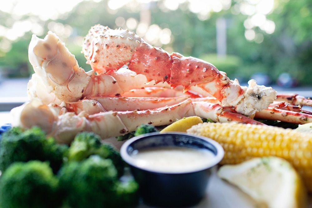 Seafood Restaurant King Crab Legs Yummy Food