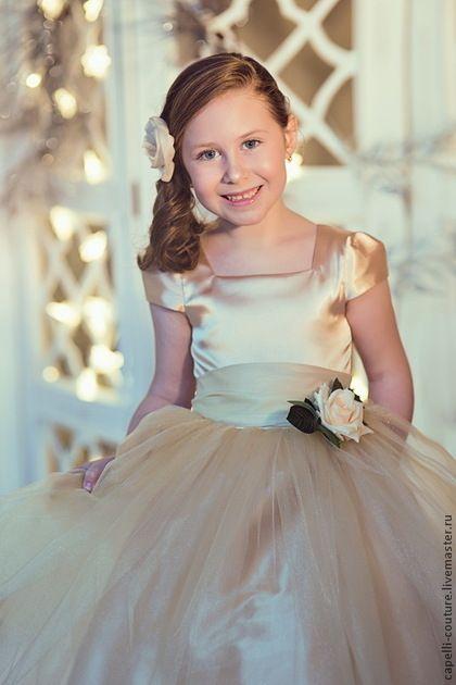 e91706cfc2e Купить Goldy нарядное платье для девочки - capelli bambini