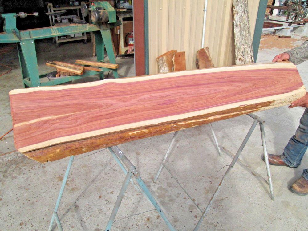 Texas Aromatic Red Cedar Slab Art Crafts Taxidermy Live Edge Woodworking Woodworking Wood Woodworking Cedar
