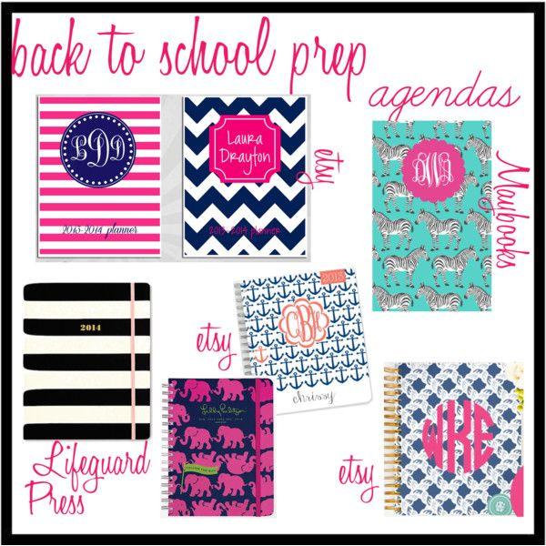 Back to School Prep: Agendas