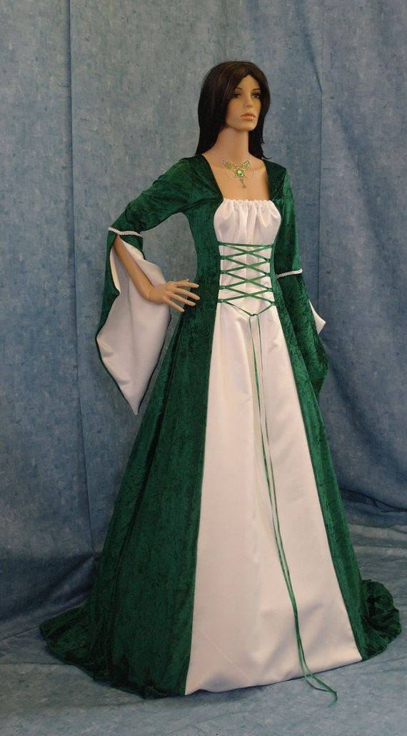 Celtic Meval Handfasting Dress Renaissance By Camelotcostumes 189 00