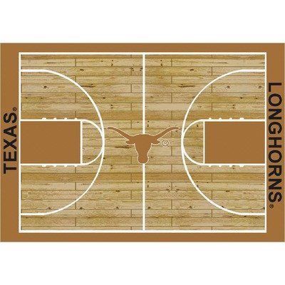 """College Court Texas Longhorns Rug Size: 10' 9""""x13' 2"""" $718.80"""