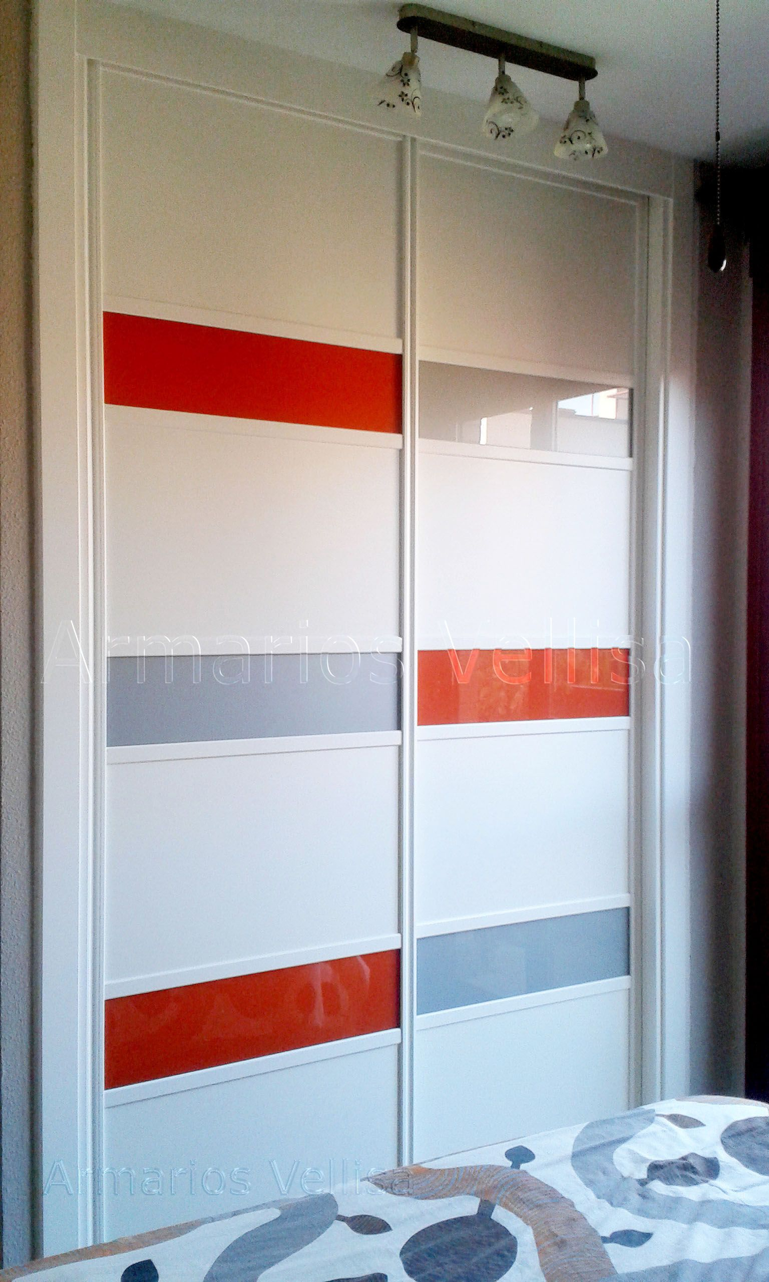 Armario Empotrado En Dormitorio Principal 259 X 160 X 62 Puertas  ~ Puertas De Armarios Empotrados De Diseño