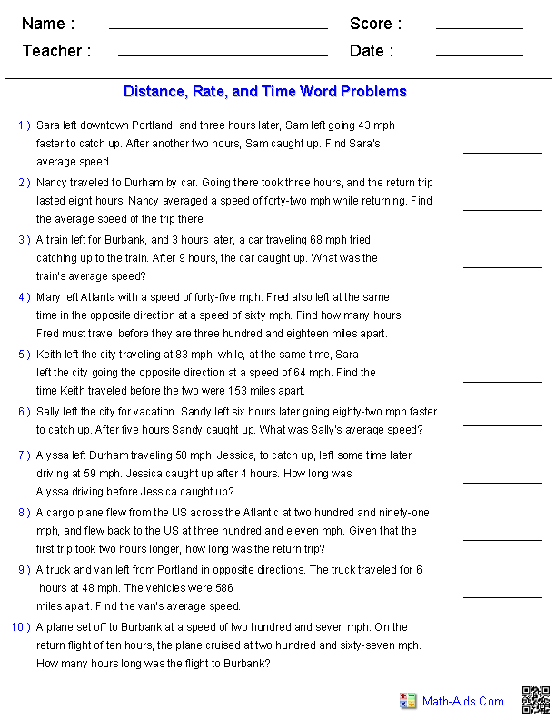 Algebra 1 Worksheets Equations Worksheets – Ratio Word Problems Worksheet