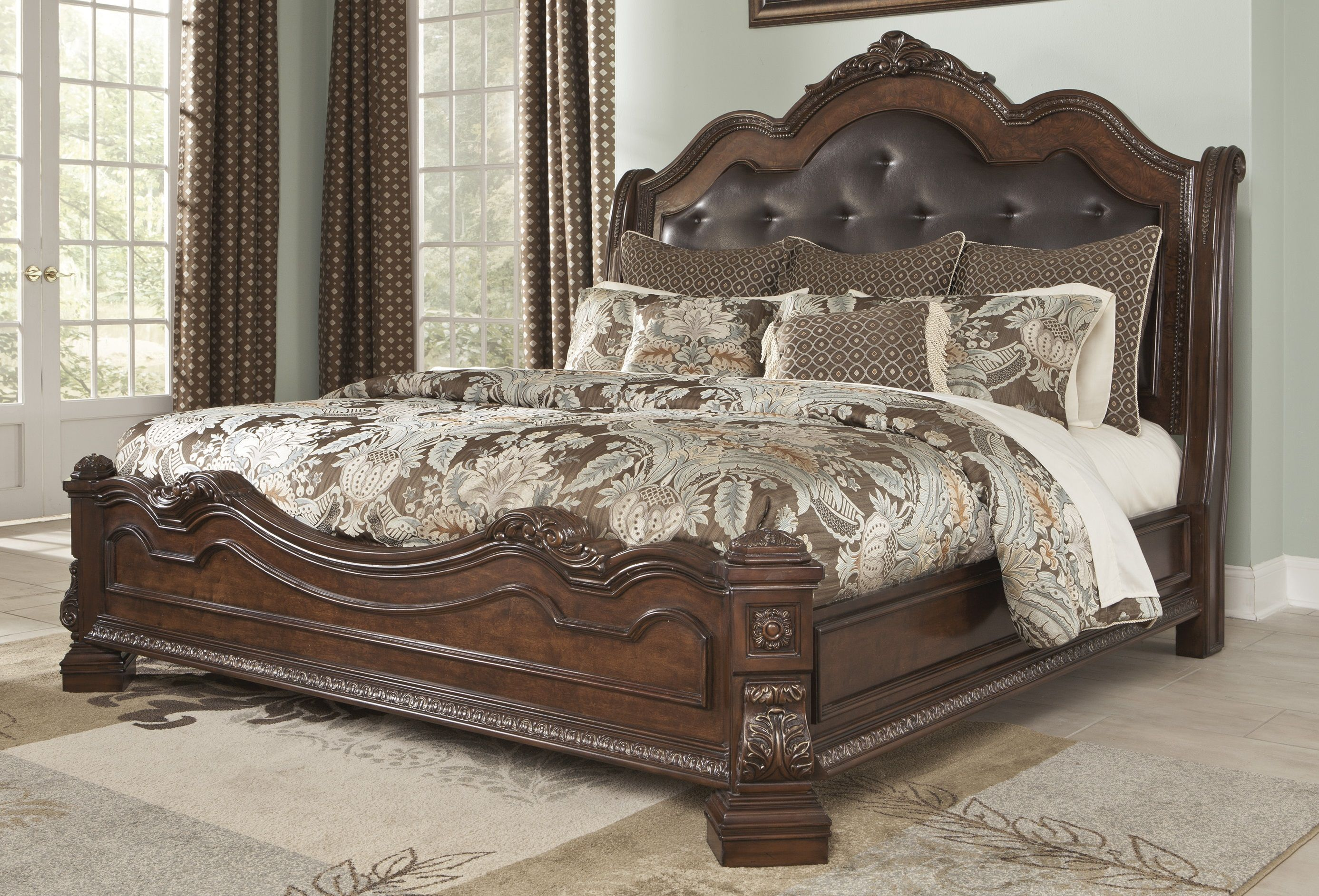 Adele King Upholstered Bed By Ashley At Crowley Furniture In