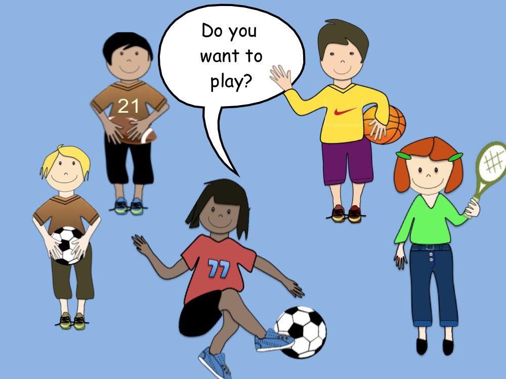 FREEBIE Clip art Sports (soccer, football tennis