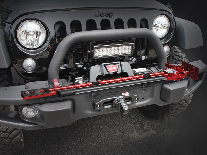 Maximus 3 Hi Lift Jack Mount To Use With 10th Anniversary Bumper For 07 Up Jeep Wrangler Jk Jk Unlimited Jeep