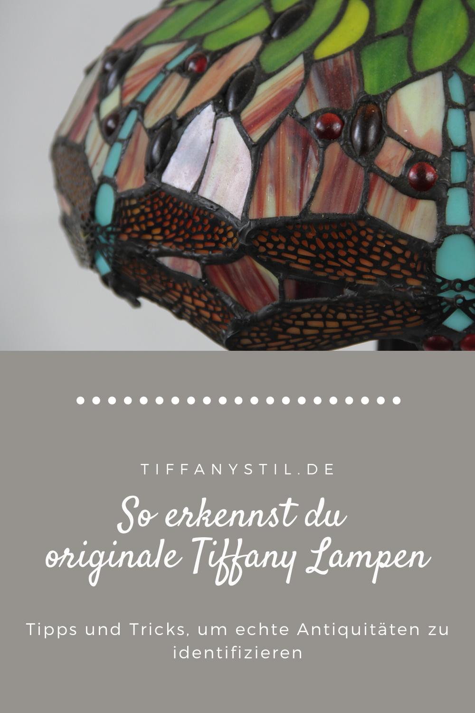 Originale Tiffany Lampen erkennen   auf diese Merkmale solltest du ...