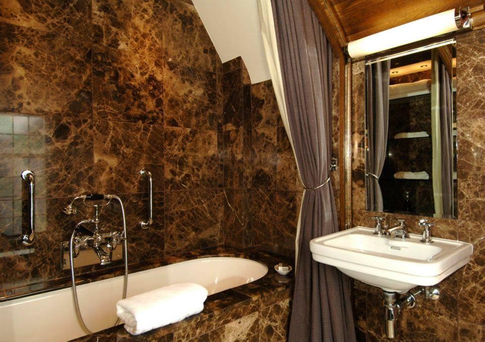 beautiful bathrooms | bathrooms - natural stone vanity units ...