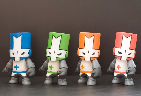 Castle Crashers Toys Awesome Game Dibujos Figuritas Esculturas