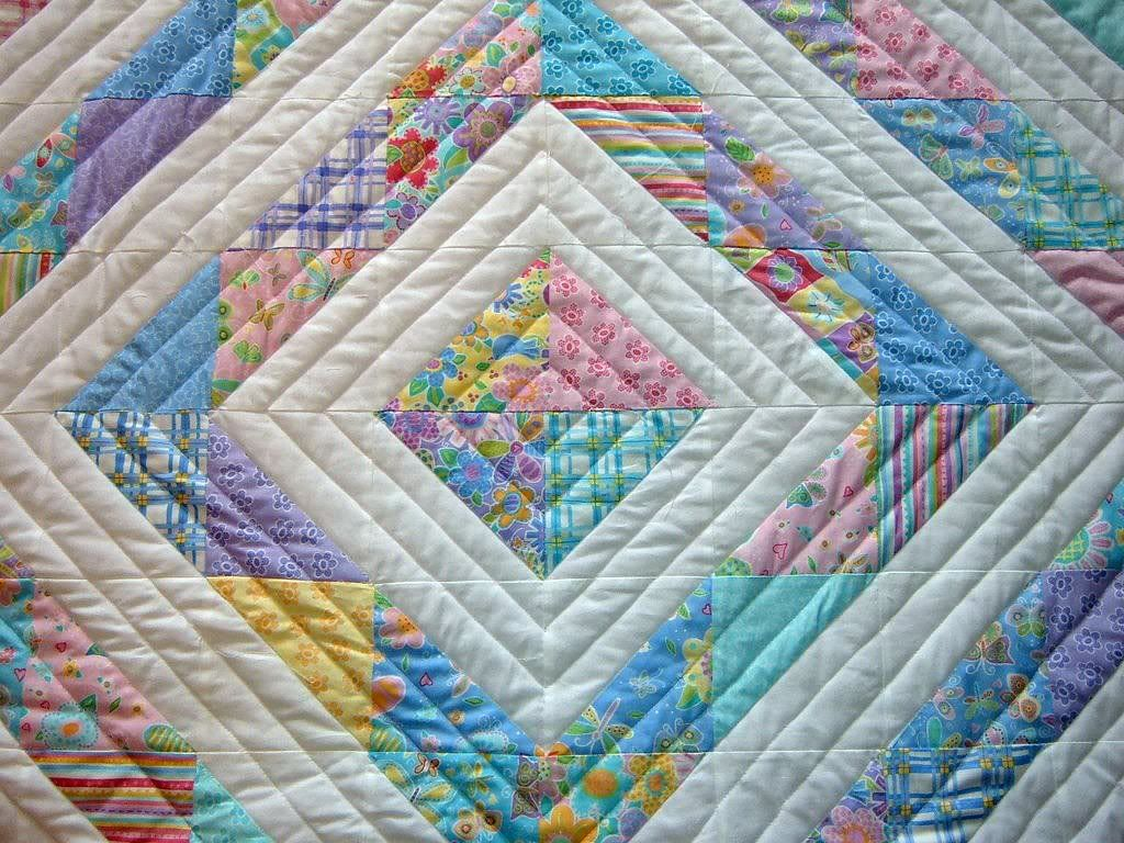 My quilting gets rather formulaic. This would be an easy jumping ... : baby quilt designs ideas - Adamdwight.com