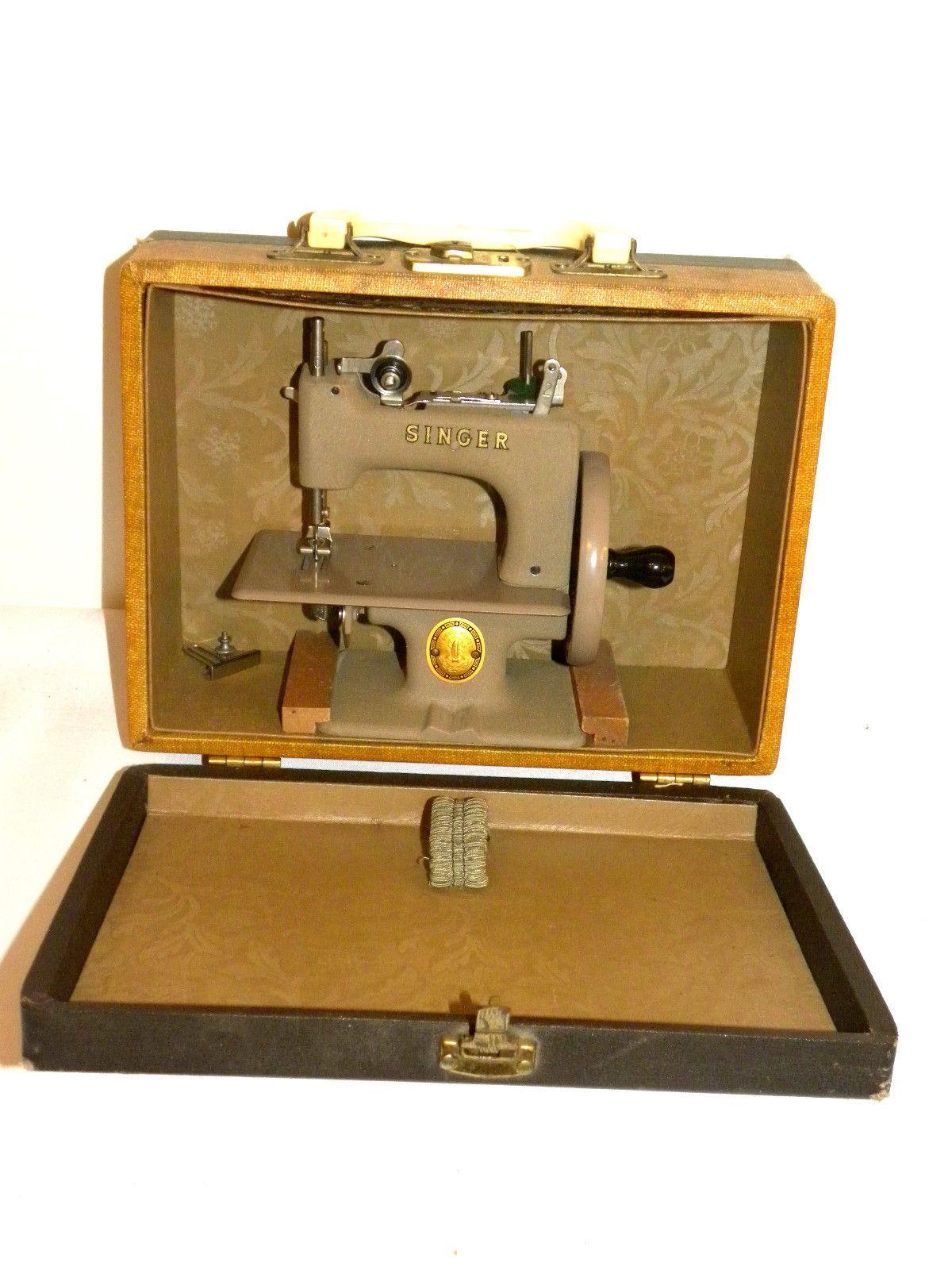 singer sewing machine crank