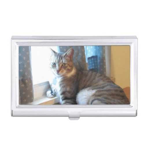 Tabby cat business card holder httpzazzle tabby cat business card holder httpzazzle colourmoves Choice Image