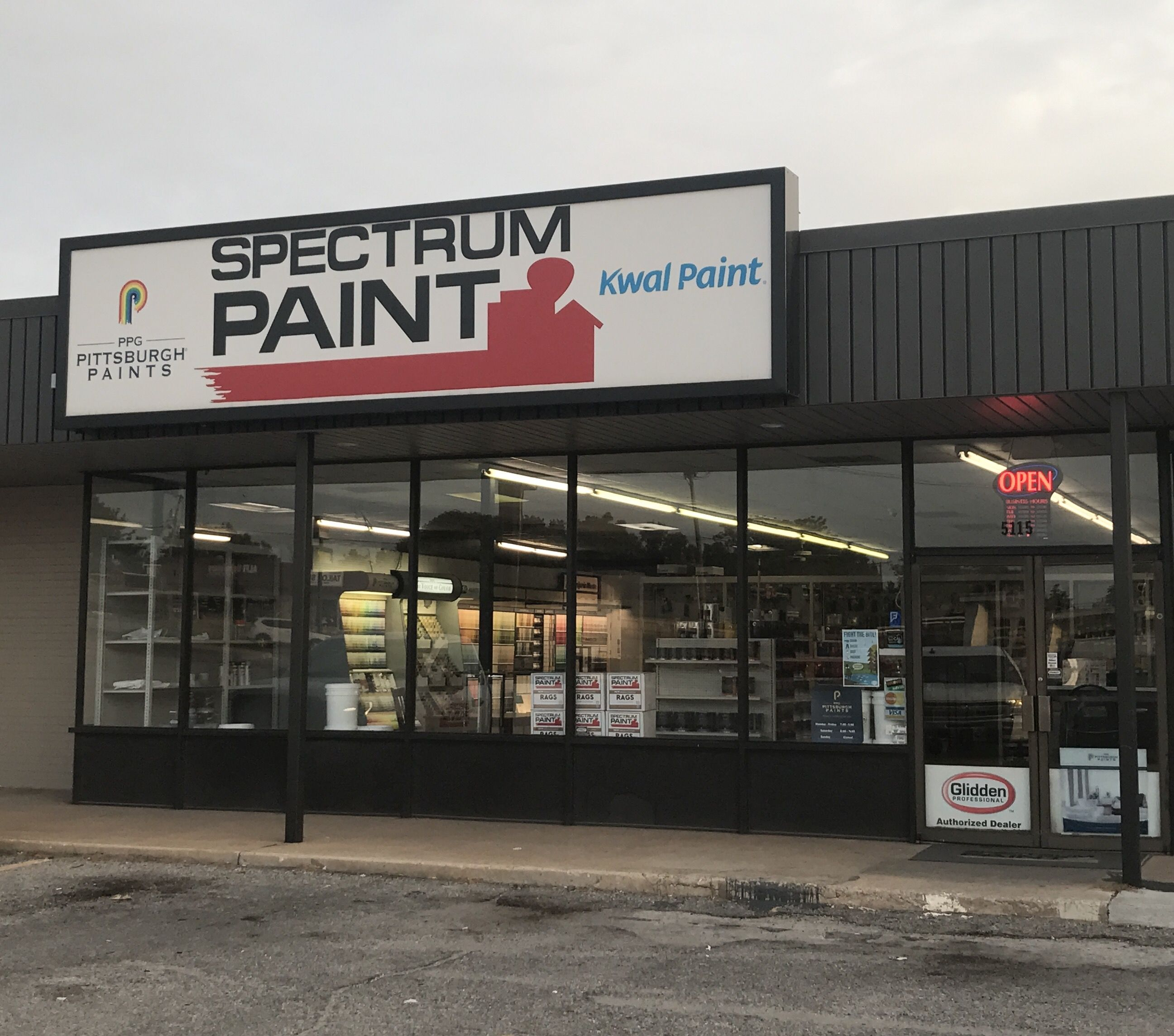 Your Local Spectrum Paint Store In Oklahoma City Ok We