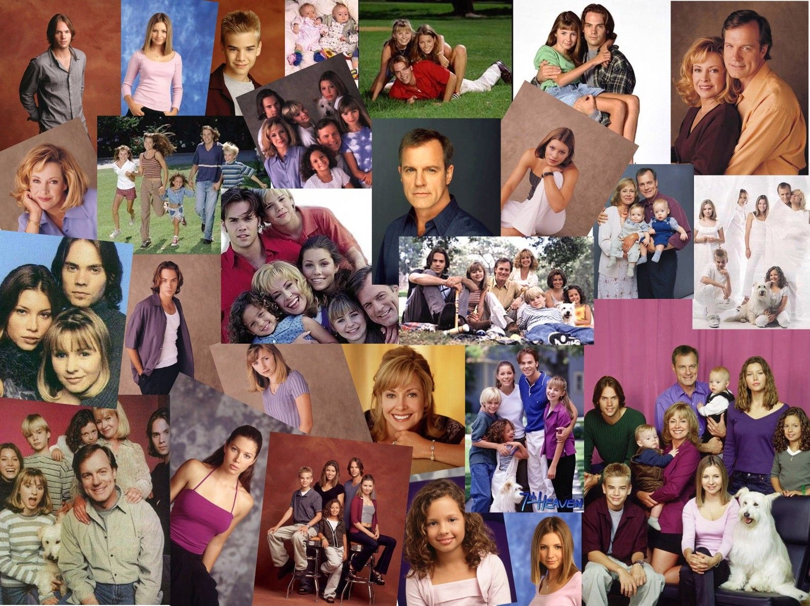 7th heaven Created by brenda hampton with stephen collins, catherine hicks, jessica biel, beverley mitchell eric camden, a minister, and his wife annie deal with the drama of having seven children, ranging from toddlers to adults with families of their own.