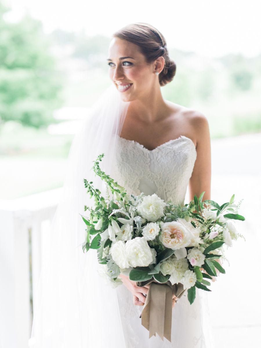 White and blue wedding dresses  Sweet  Rustic North Carolina Wedding  Country weddings Wedding