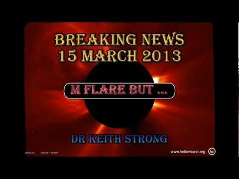 BREAKING NEWS -- M FLARE BUT ... -- 15 MARCH 2013
