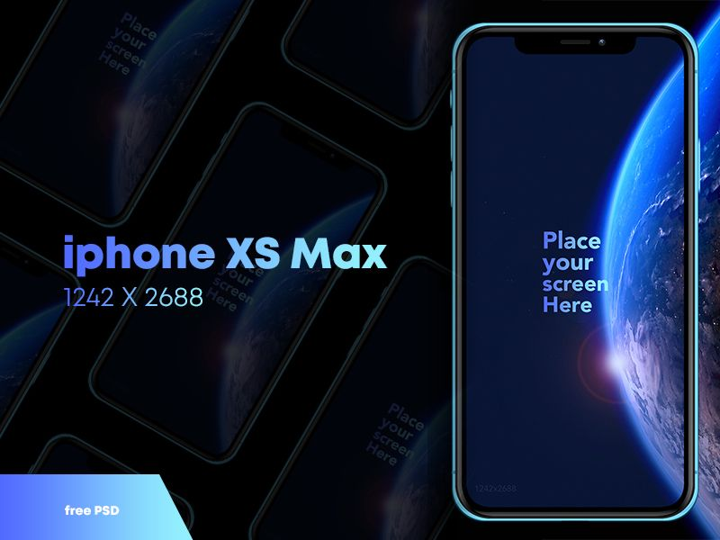 Free Iphone Xs Max Mock Up Free Iphone Iphone Free