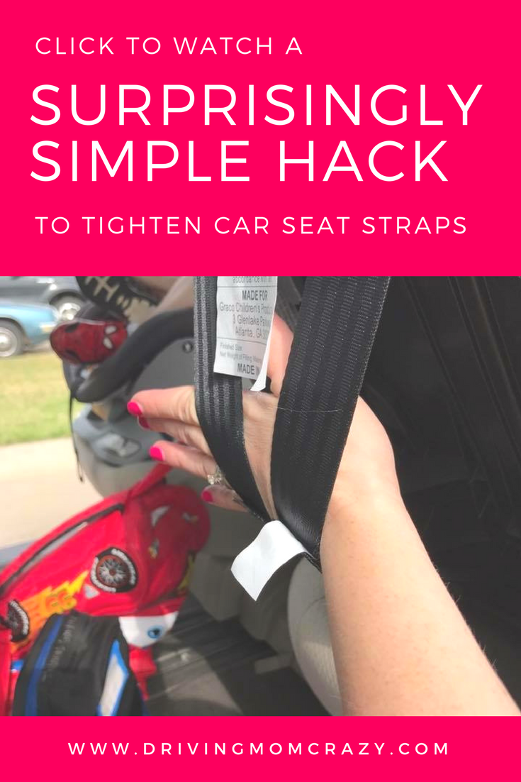 Sometimes Harness Straps On Rear Facing Car Seats Can Be Difficult To Tighten Heres A Quick Tip EASILY The Graco Extend2Fit And Other