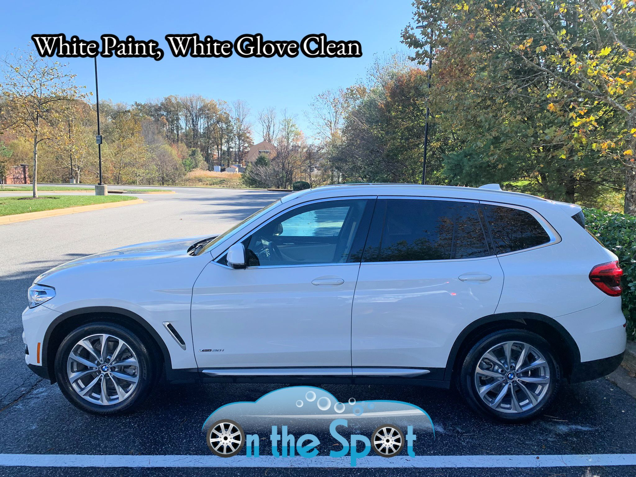 White Glove Clean On White Cars Even In The Winter In 2020 Car