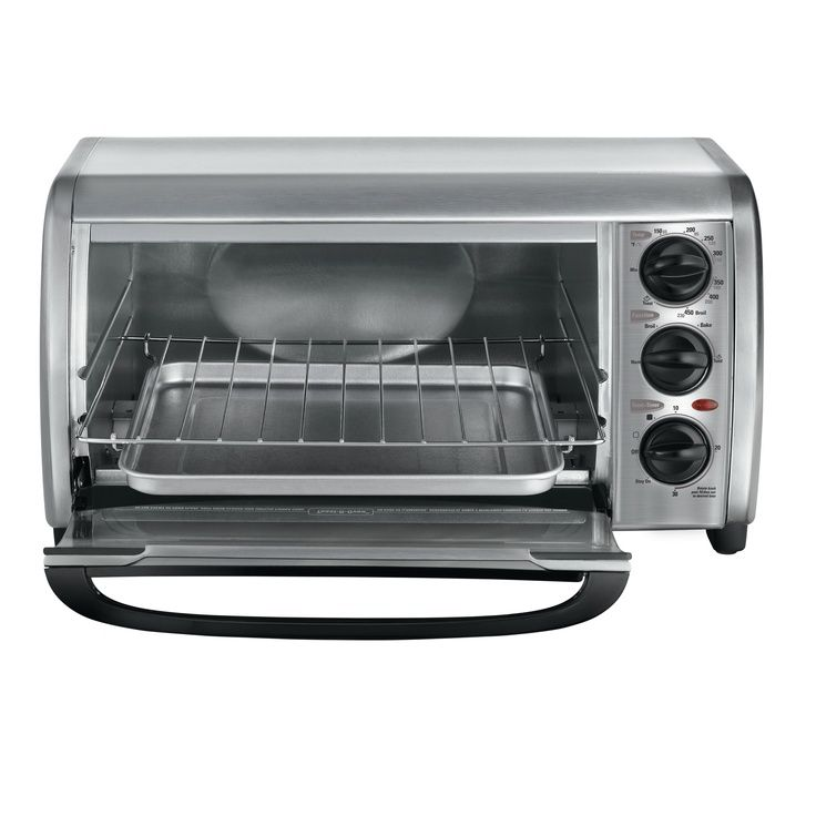 Buy Black And Deckers Best Toaster Ovens The Tro480bs Toaster Oven Has Great Features Like Bake Toaster Oven Countertop Toaster Oven Stainless Steel Toaster