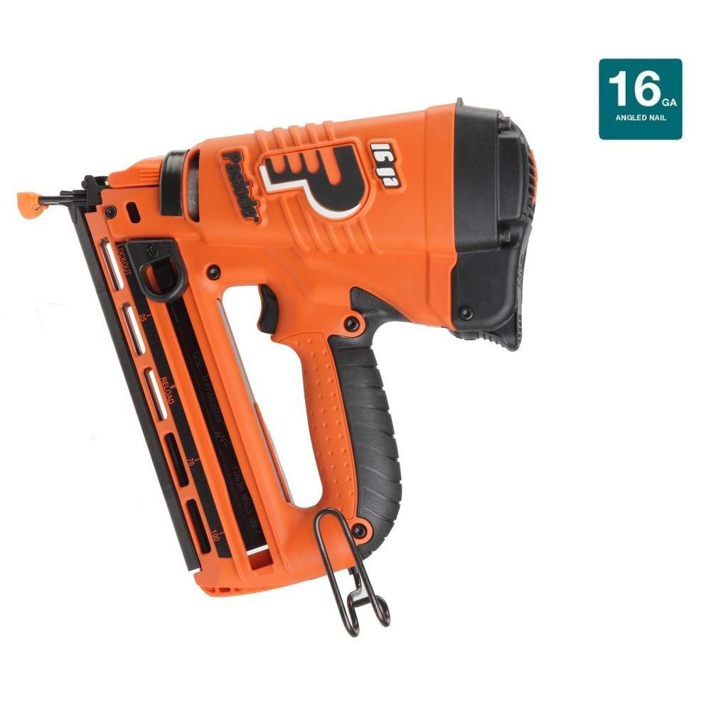 Cordless 16-Gauge Angled Lithium-Ion Finish Nailer   Products