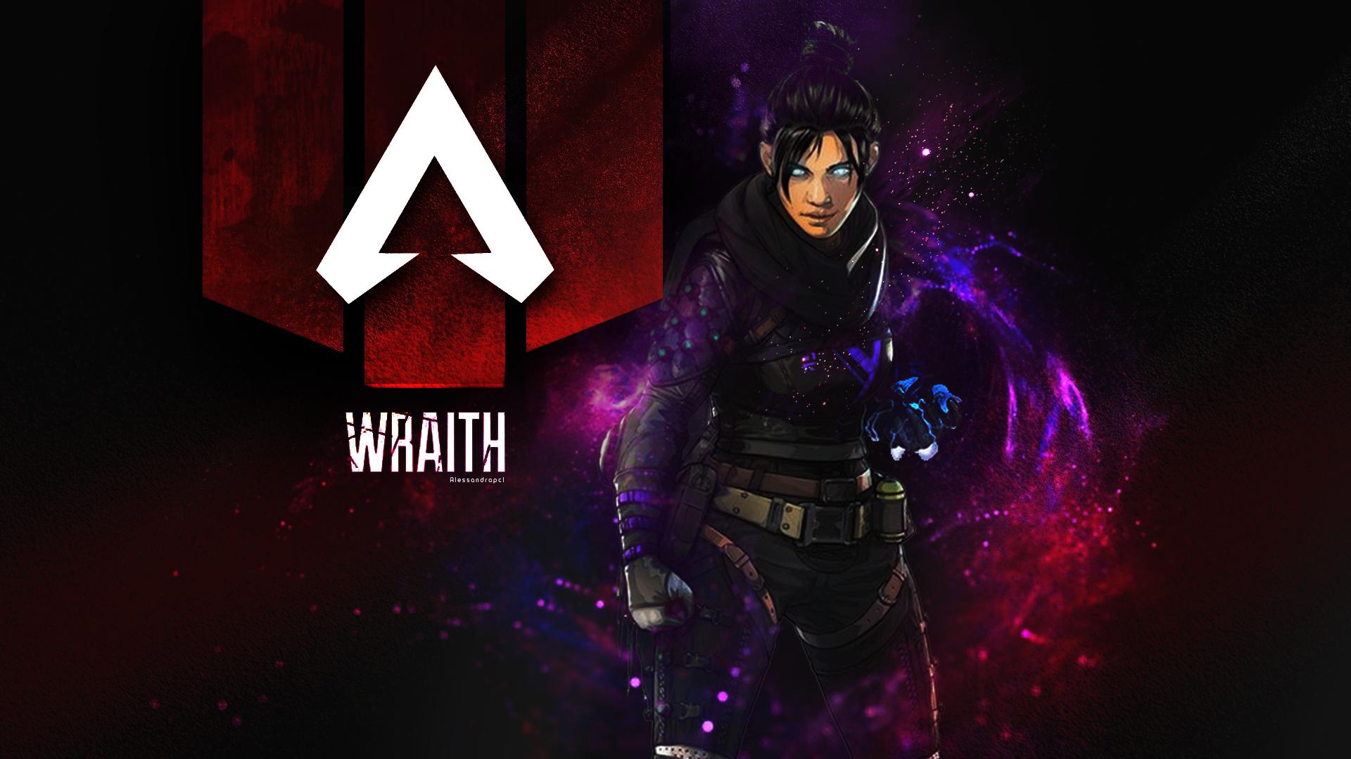 Wraith Apex Legends! FanArt by alessandrapcl (instagram
