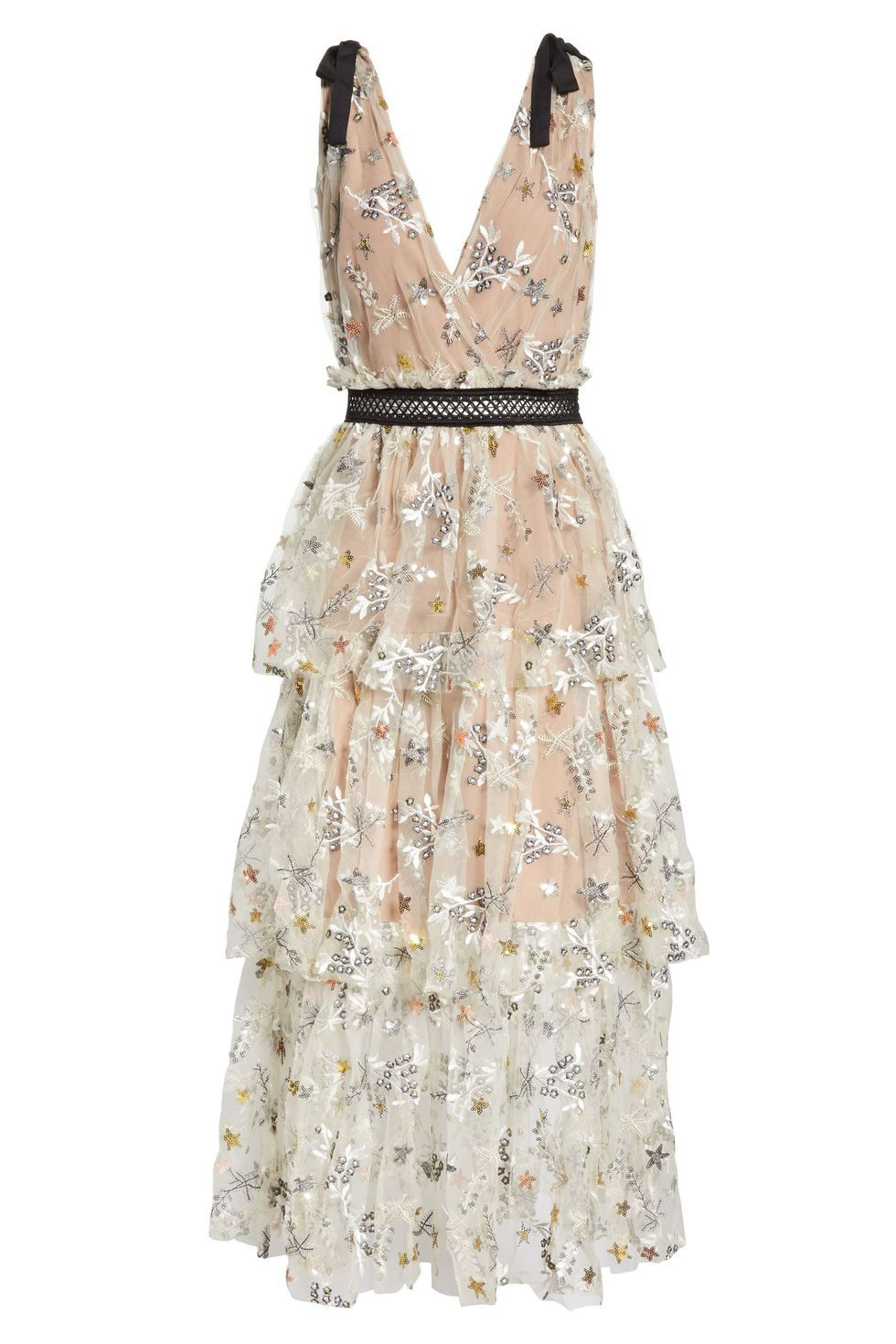 10 Beach Wedding Dresses You Can Buy Off The Rack Casual Wedding Dress Beige Cocktail Dresses Embroidered Cocktail Dress