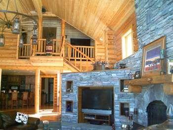 Log Homes Interior Designs Exterior Best Log Home Interior Design  Home  Living Room  Pinterest  Logs . Design Decoration
