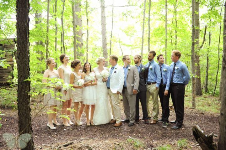 Wedding Party Portraits   ORANGEVILLE WEDDING   Guelph Wedding Photography   Ashley Renee Photography