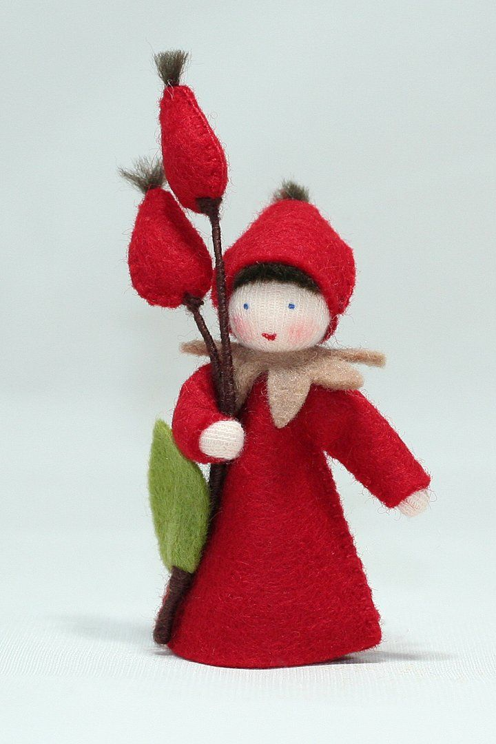 Rose Hips Fairy (fall outfit, three skin tones) #dollcare