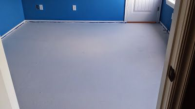 Painted Plywood Subfloor Beginning To End Painted Plywood Floors Basketball Court Preparation Plywood Flooring Painted Plywood Floors Plywood Subfloor