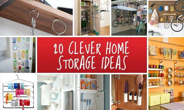 20 Clever Home Hacks Interior Design