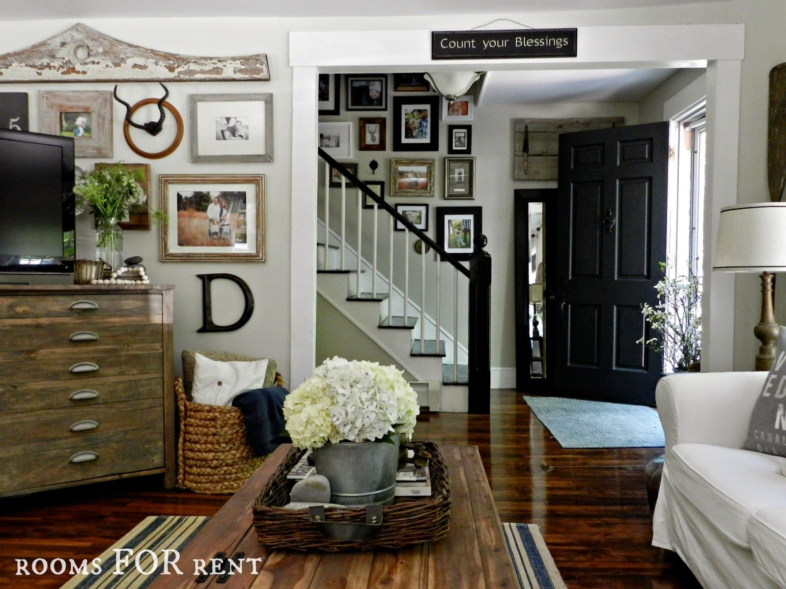 Gallery Walls, Farmhouse Style ~rooms FOR Rent~: Summer Home Tour {2014