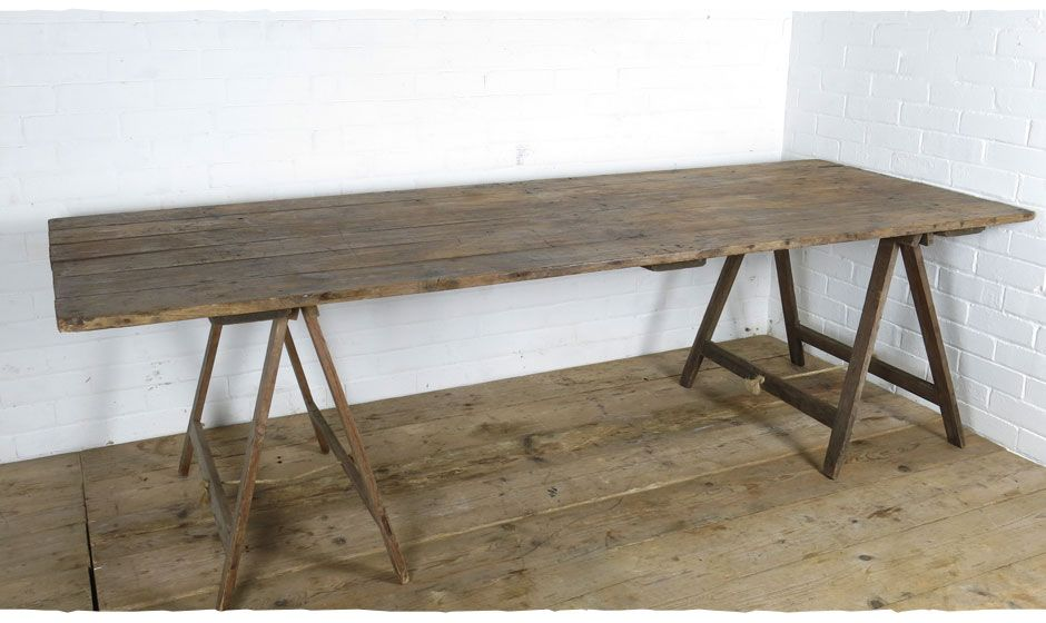 High Quality Rustic Worn Wooden Tables. Dining Table. Food, Drinks, Cake, Display Table Part 7
