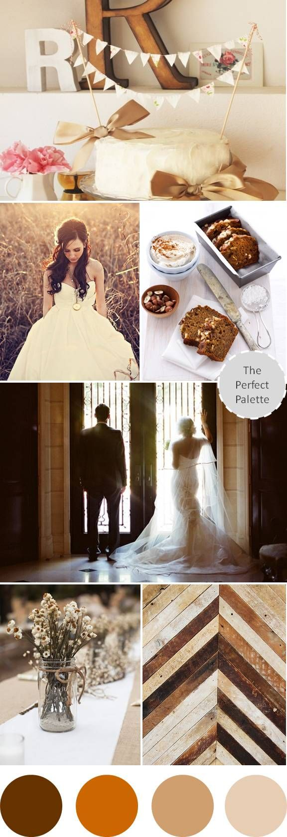 {Wedding Colors}: Shades of Brown