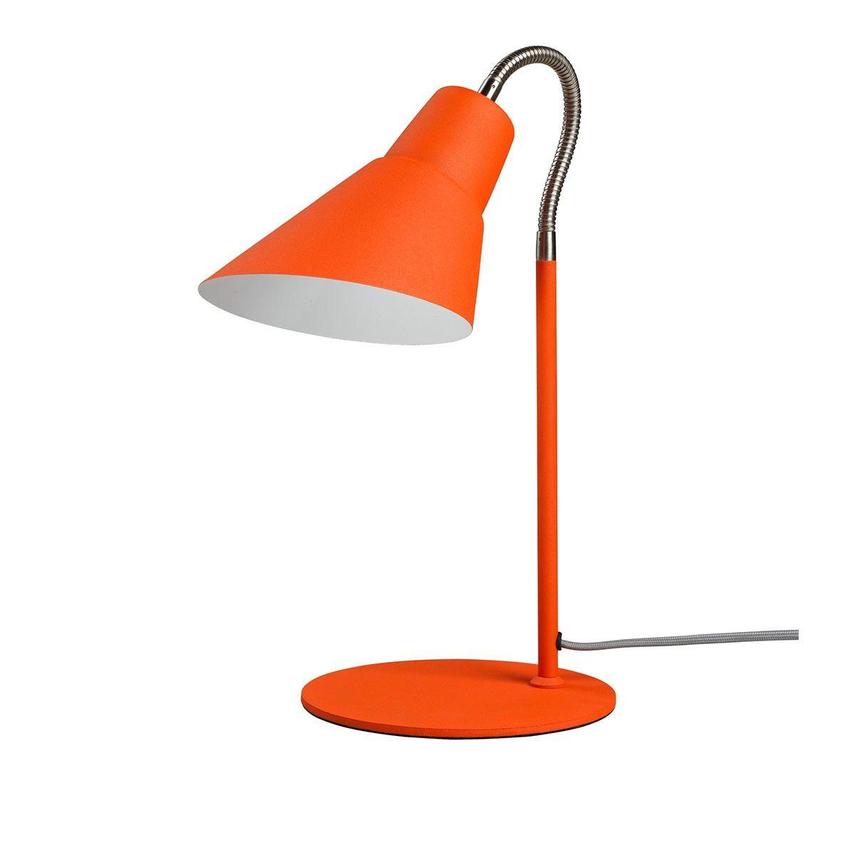 Lampe De Bureau Gooseneck Orange Entre Tradition Et Modernite La Lampe De Bureau