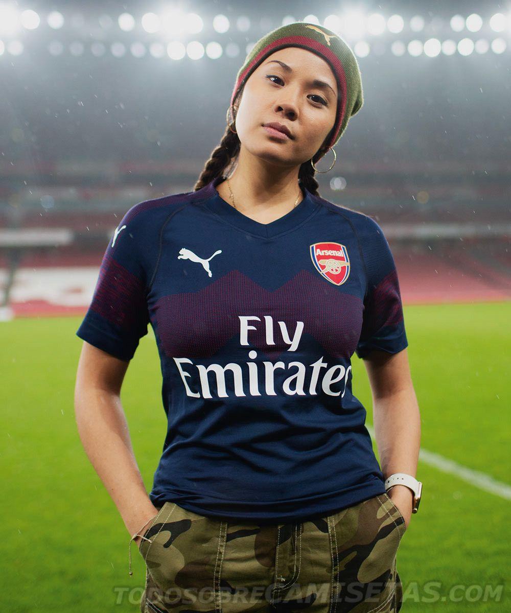 f10d1963e Arsenal 2018-19 PUMA Away Kit