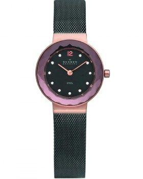Γυναικεία Ρολόγια : SKAGEN Ladies Design Two Tone Stainless Steel Bracelet 456SRM