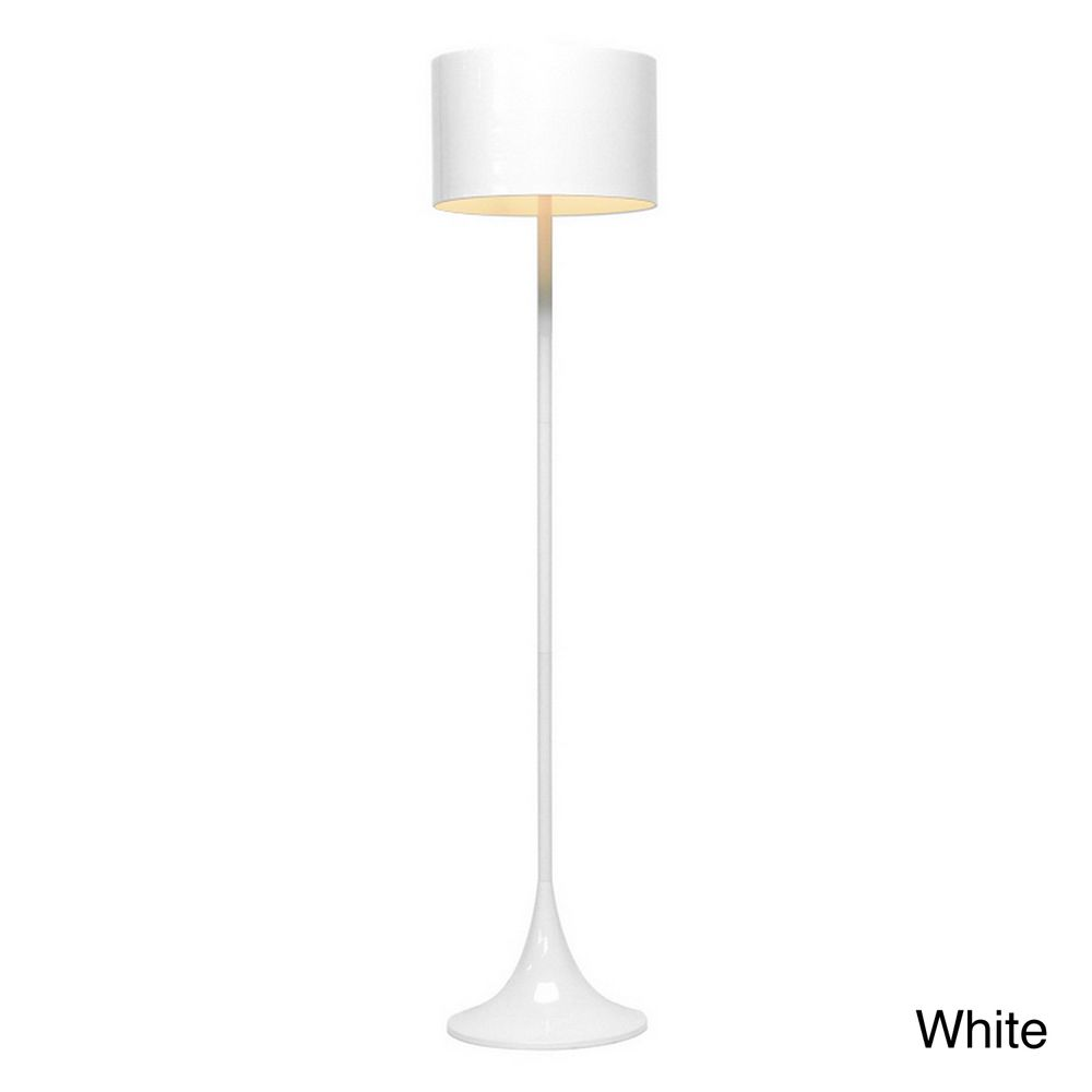 Tulip white modern floor lamp overstock decorate pinterest tulip white modern floor lamp overstock mozeypictures Images