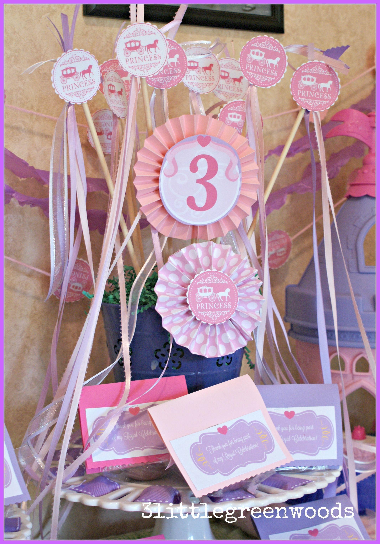 Simple Princess Party Favors | Princess party, Favors and Princess