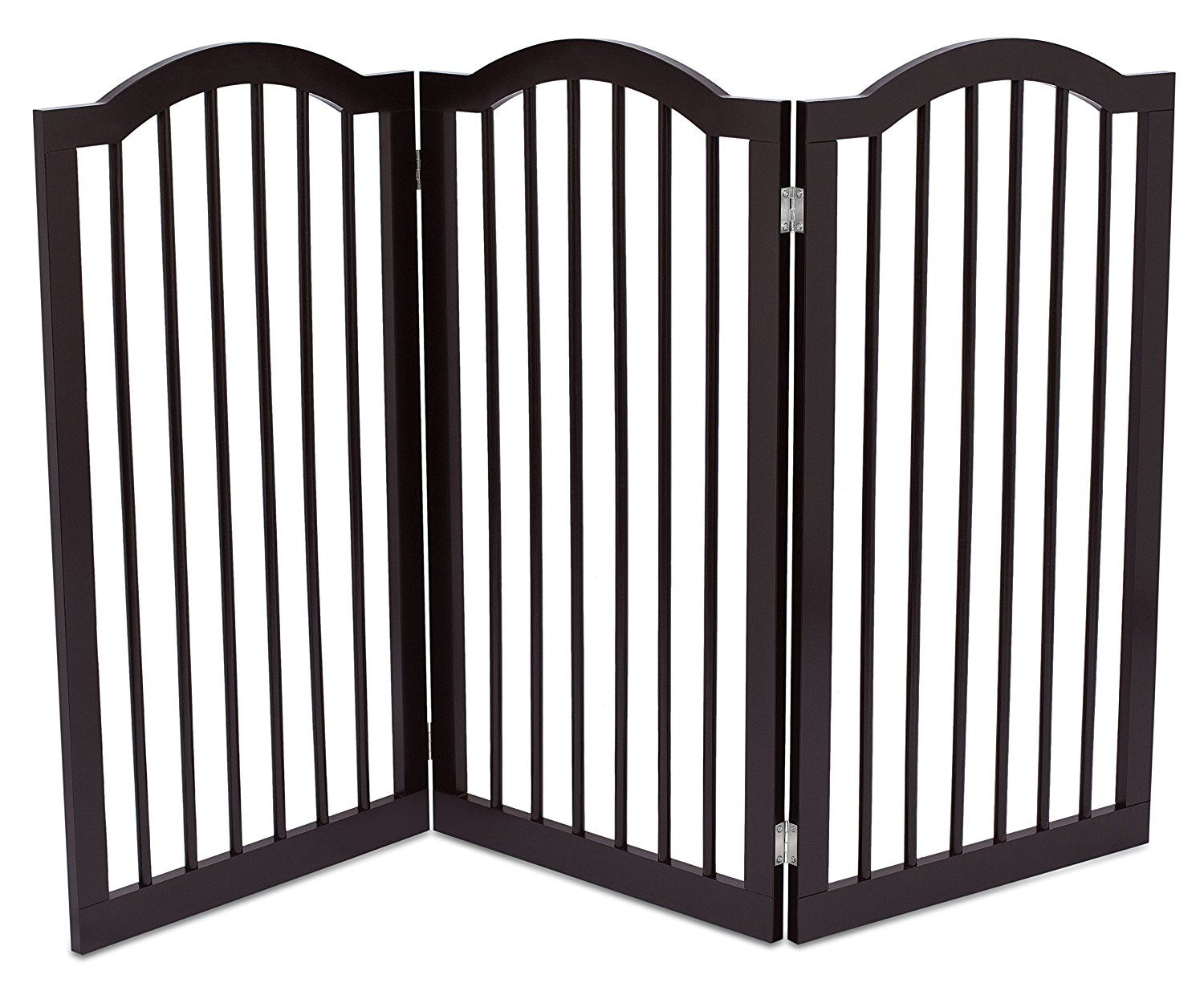 Internet S Best Pet Gate With Arched Top 3 Panel 36 Inch Tall