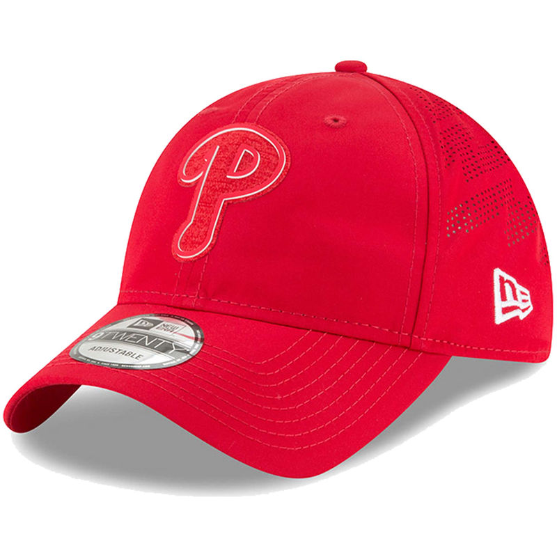 online store 56327 8b62f Philadelphia Phillies New Era 2018 Clubhouse Collection Classic 9TWENTY  Adjustable Hat – Red