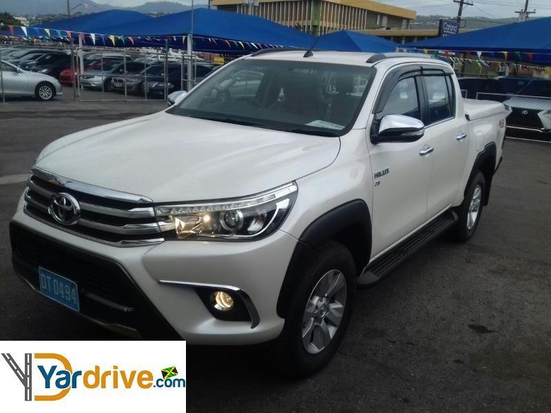 2017 Used Toyota Hilux Revo For Sale In Jamaica