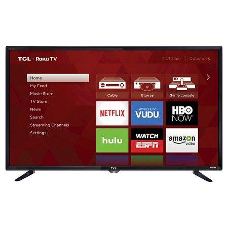 Tcl 40 1080p Smart Led Roku Tv 40s325 Tvs Led Tv Smart Tv