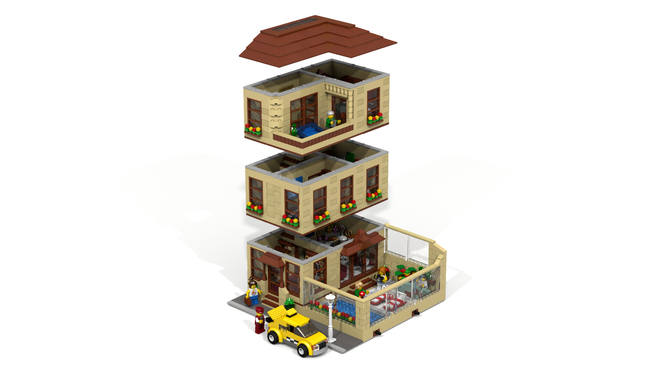 Welcome to the LEGO Hotel! It will be the first Hotel in the Modular ...