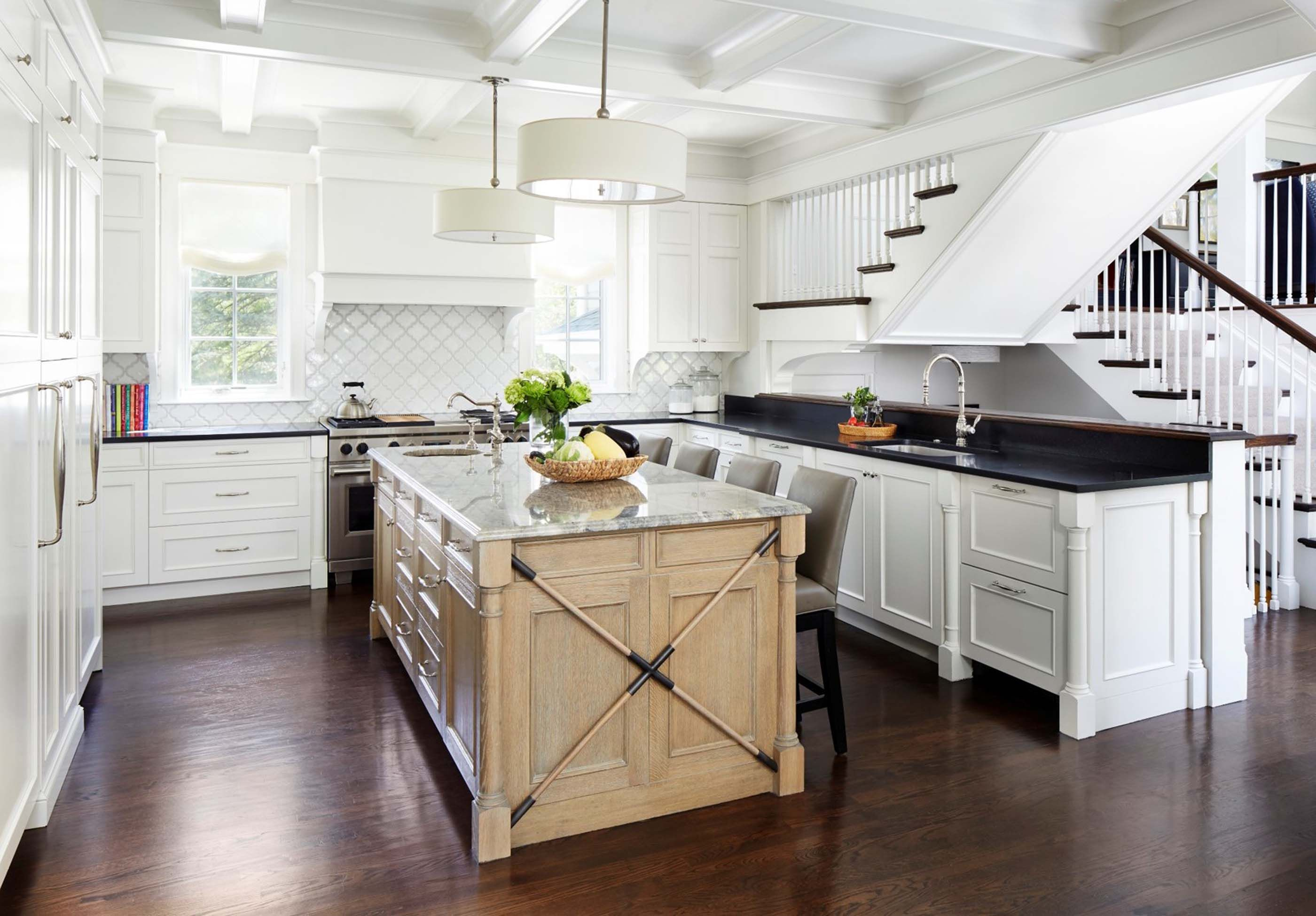 : Morgante Wilson Architects designed this traditional yet ...
