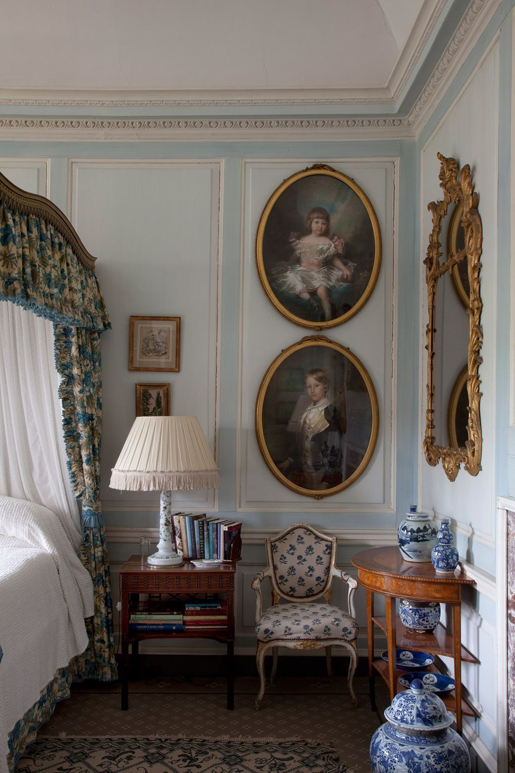 marvelous blue sky bedroom country styl | English country bedroom ideas | Country house interior ...