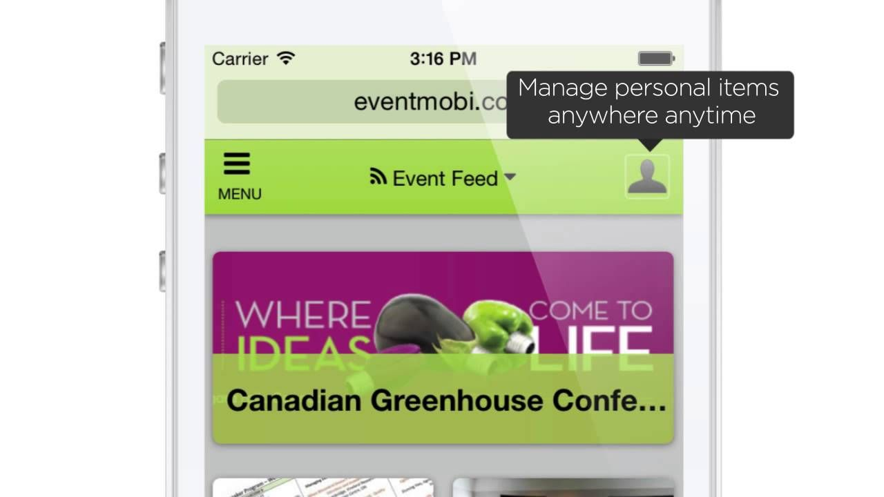 Welcome to Canadian Greenhouse Conference Mobile App